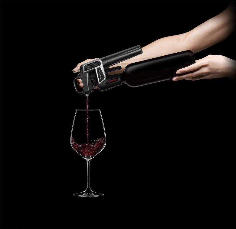 Wijnen per glas of Coravin